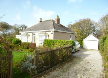 Thumbnail 3 bed detached bungalow for sale in St. Hilary, Penzance