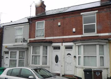 Thumbnail 2 bed terraced house for sale in Windermere Road, Forest Fields, Nottingham