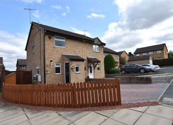 Thumbnail 2 bedroom semi-detached house for sale in Cobham Walk, Leeds, West Yorkshire