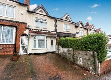 Thumbnail 4 bedroom terraced house for sale in Churchill Road, Bordesley Green, Birmingham