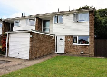 Thumbnail 3 bed end terrace house for sale in Sedley Close, Gillingham