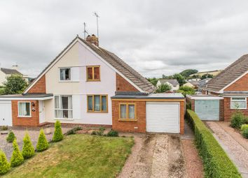 Thumbnail 3 bed semi-detached bungalow for sale in Meadow Gardens, Crediton