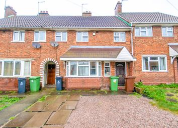 Thumbnail 3 bedroom terraced house for sale in Lister Road, Beechdale, Walsall