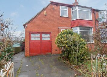 Thumbnail 3 bed semi-detached house for sale in Claypool Road, Horwich, Bolton