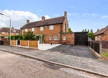 Thumbnail 3 bed semi-detached house for sale in Elm Avenue, Nuthall, Nottingham