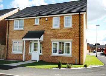 Thumbnail 4 bedroom detached house for sale in Hill Meadows, Willington, Crook