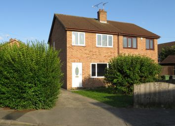 Thumbnail 3 bed semi-detached house for sale in Wentworth Close, Camblesforth, Selby