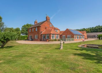 Thumbnail 4 bed detached house for sale in Collingham Road, Swinderby, Lincoln