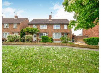 Thumbnail 3 bed semi-detached house for sale in Gaddesden Crescent, Watford