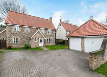Thumbnail 4 bed detached house for sale in Chalk Way, Methwold, Thetford