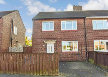 Thumbnail 3 bed semi-detached house for sale in Elizabeth Drive, Forest Hall, Newcastle Upon Tyne