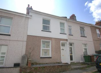 Thumbnail 3 bed terraced house for sale in Kent Road, Plymouth