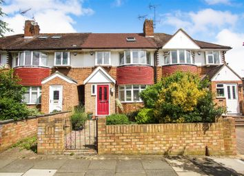 Thumbnail 4 bed terraced house for sale in Old Manor Drive, Isleworth, Middlesex