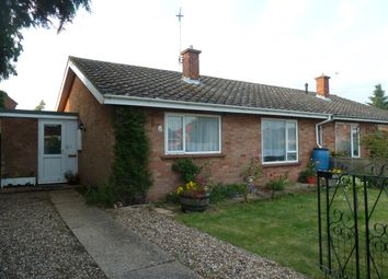 Thumbnail 2 bed bungalow to rent in Ling Way, Coltishall