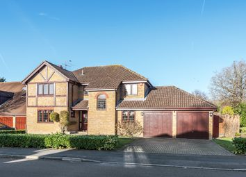 Thumbnail 5 bed detached house to rent in Manor Park Drive, Finchampstead, Wokingham