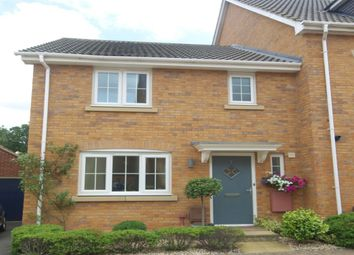 Thumbnail 3 bed property for sale in Lapwing Drive, Queens Hills, Norwich