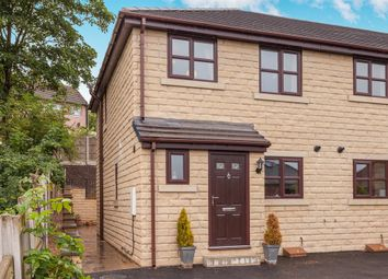 Thumbnail 3 bedroom end terrace house for sale in Overthorpe Court, Thornhill, Dewsbury