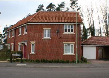 Thumbnail 3 bedroom terraced house to rent in 1 Conifer Close, Mildenhall, Bury St. Edmunds