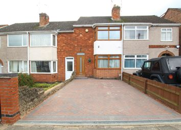 Thumbnail 2 bed terraced house for sale in Grayswood Avenue, Coventry