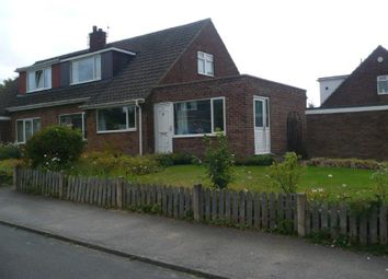 Thumbnail 3 bed semi-detached bungalow to rent in Darton Hall Close, Barnsley