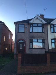 Thumbnail 3 bedroom end terrace house to rent in Windmill Road, Coventry