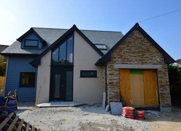 Thumbnail 4 bed detached house for sale in Shop Park, Lower Tremar, Liskeard, Cornwall