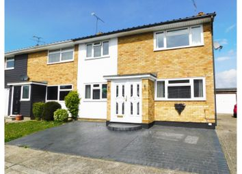 Thumbnail 3 bed semi-detached house for sale in Larch Grove, Witham