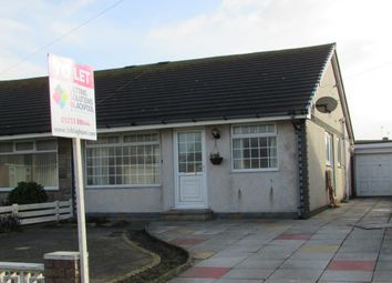Thumbnail 2 bed bungalow to rent in Fir Close, Fleetwood, Lancashire