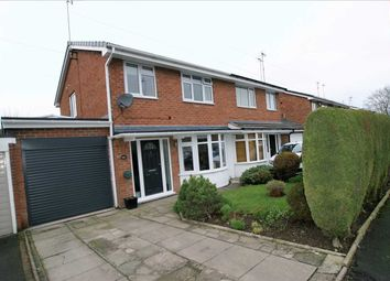 Thumbnail 3 bed semi-detached house for sale in Chessington Crescent, Trentham, Stoke On Trent