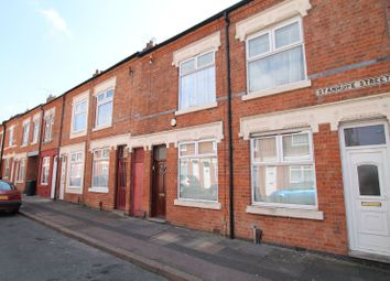 Thumbnail 2 bed terraced house for sale in Stanhope Street, Evington, Leicester