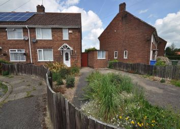 Thumbnail 2 bed semi-detached house for sale in Hales Crescent, Hedon, Hull