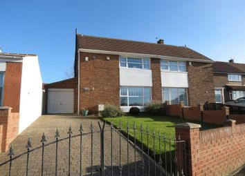 Thumbnail 3 bed semi-detached house for sale in Crawford Avenue, Peterlee