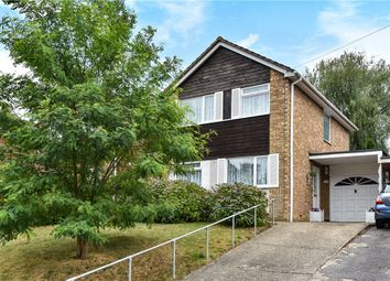 Thumbnail 3 bed detached house for sale in Whitehill Close, Camberley, Surrey