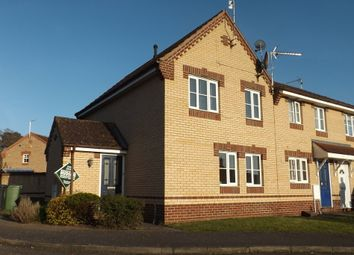 Thumbnail 3 bedroom semi-detached house for sale in Buttercup Close, Thetford
