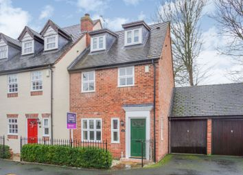Thumbnail 3 bed town house for sale in The Croft, Henley-In-Arden