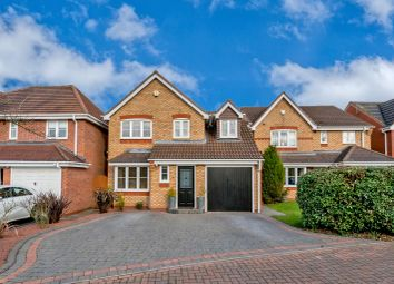 Thumbnail 3 bed detached house for sale in Newbury Road, Norton Canes, Cannock