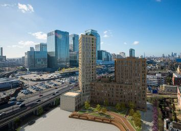 Thumbnail 1 bed flat for sale in Manhatten Plaza, London