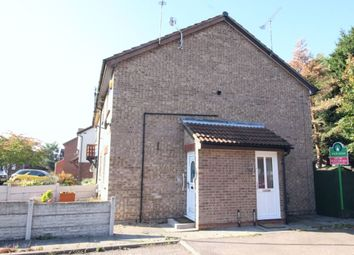 Thumbnail 1 bed property for sale in Manor Drive, Leicester