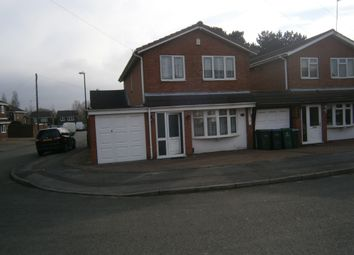 Thumbnail 3 bedroom link-detached house to rent in Pembury Avenue, Coventry