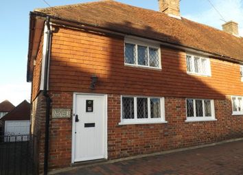 Thumbnail 3 bedroom end terrace house to rent in High Street Burwash, Etchingham