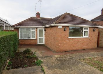 Thumbnail 2 bed bungalow to rent in Woodcote Road, Braunstone, Leicester