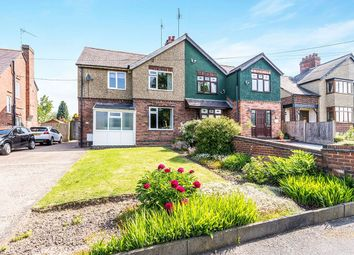 Thumbnail 3 bed semi-detached house for sale in Spring Lane, Swannington, Coalville