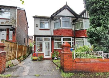 Thumbnail 3 bed semi-detached house for sale in Dorchester Avenue, Prestwich, Manchester