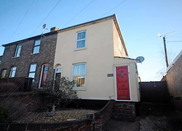 Thumbnail 3 bedroom end terrace house for sale in Stowupland Road, Stowmarket