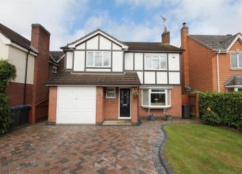 Thumbnail 4 bed detached house for sale in Lychgate Close, Burbage, Hinckley