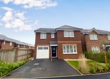 4 bed detached house for sale in Oak Drive, Sychdyn, Mold CH7