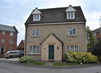 Thumbnail 4 bed detached house for sale in Tortworth Road, Redhouse, Swindon
