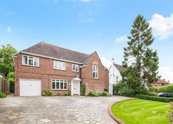 Thumbnail 4 bed detached house for sale in Pine Walk, Carshalton