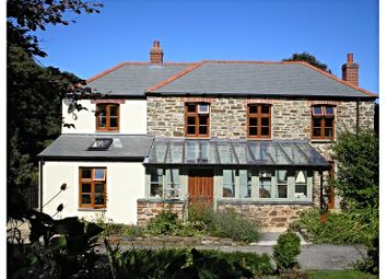 Thumbnail 4 bed detached house for sale in Quay Road, St. Agnes