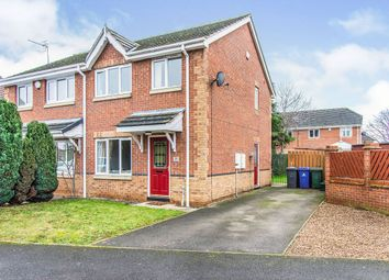 Thumbnail 3 bed semi-detached house for sale in Fiddlers Drive, Armthorpe, Doncaster
